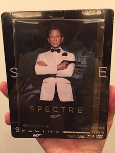 ��Spectre�� on Blu-ray