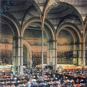 Bibliotheque nationale, Paris