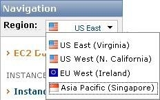 AWS Region in Asia Pacific