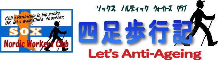 Sox 四足歩行記 Let's Anti-Ageing