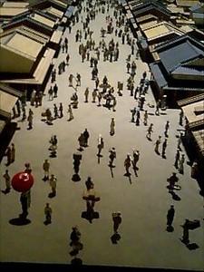 江戸東京博物館の模型