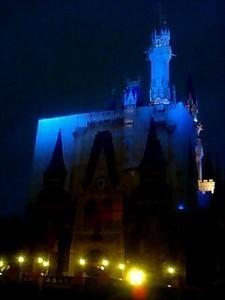 張りぼてシンデレラ城