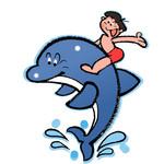 イルカに乗った少年はいませんでした