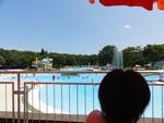 プール。最高。