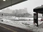 JR長岡駅前の様子