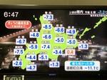 北海道の気温予報