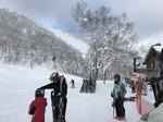 富良野スキー場の様子