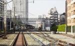 板橋の電留線