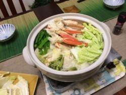 海鮮鍋完成!
