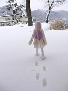 雪の木崎湖クリスマスパーティー その