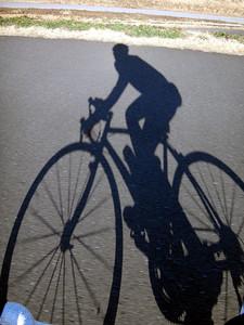 荒川サイクリングロードで100km練習