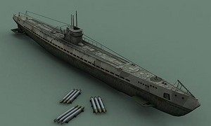 U-Boat model for Source engine