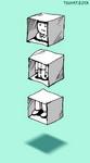 空想てくてく。箱人分解。
