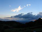 ラミントン国立公園の空