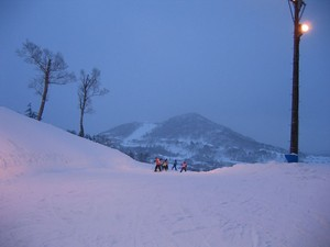 今シーズン3度目のスキー