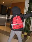 赤のセカンドバッグ