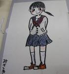 みさきちゃんの絵