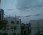 まさかの雨だぜ東京は
