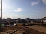 いい天気〜(市内一の高台より)