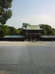 ある日の明治神宮