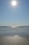 クタ・ビーチに照りつける太陽