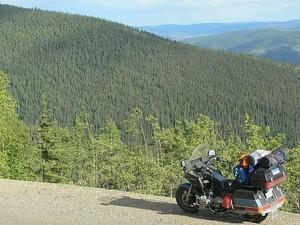 バイクの旅の写真
