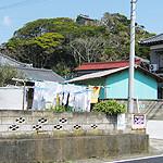 道路から見た浅間神社