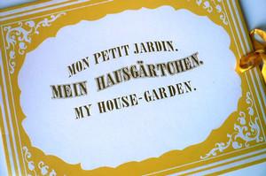 MY HOUSE-GARDEN.