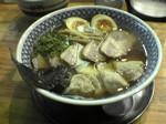 チャーシューワンタン麺味玉