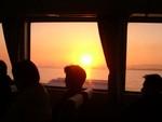 在りし日のホバークラフトから別府湾