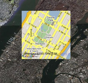 Google Maps Transparencies
