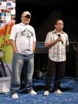 羅監督と林雪@香港亞洲電影節。