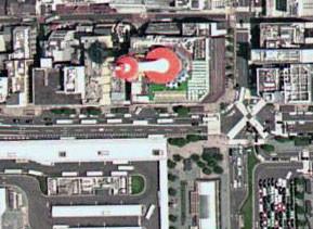 Google Earthで京都タワー