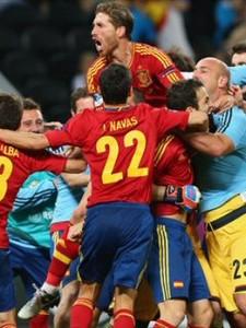 スペイン決勝へ