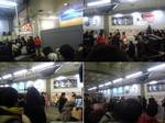 渋谷駅でのベリ工イベント