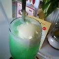 ルノアールのクリームソーダ