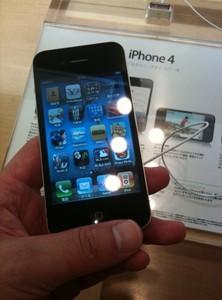 iPhone 4を触った