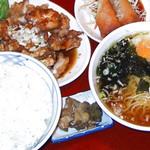中華A定食 750円