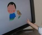 子ども番組に興味深深