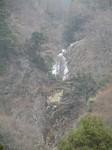 白猪の滝の上の滝