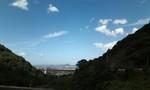 大谷池から見える街