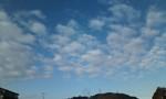 [雲]ひつじ雲