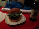渋谷のDJ CRAZY NEO ハンバーガー