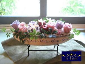 プリザーブドフラワー 祝花