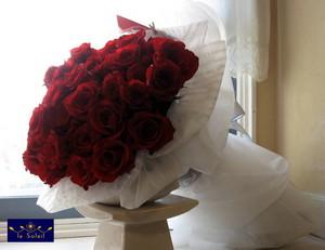 名古屋 赤バラ 大きな花束 クリスマ