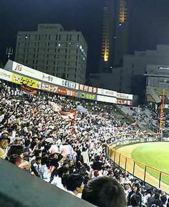 広島市民球場。