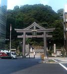 日枝神社下