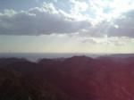 清澄山より海を望む
