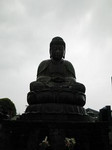 雨の鎌ヶ谷大仏