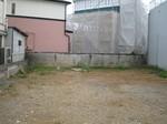 更地のままのラーメン二郎京成大久保店
